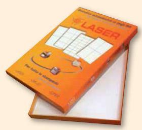etichette fotocopiabili adesive